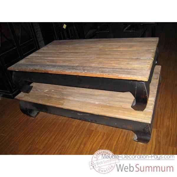vid o table opium structure laque noire plateau style chine c2300n nat sur meuble decoration pays. Black Bedroom Furniture Sets. Home Design Ideas