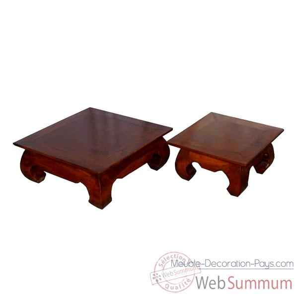 table mini opium pour d coration meuble d 39 indon sie 54244 dans table. Black Bedroom Furniture Sets. Home Design Ideas